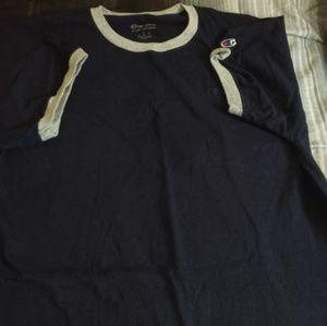 Navy blue Champion Shirt